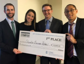 Real Estate Students at the UNC Real Estate Development Challenge