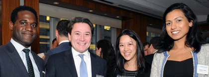 photo: 2015 Annual Real Estate Alumni Reception