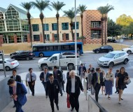 Students on the 2019 Fall trek to Austin, Texas
