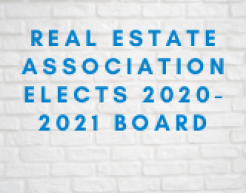 Real Estate Association Elects 2020-2021 Board